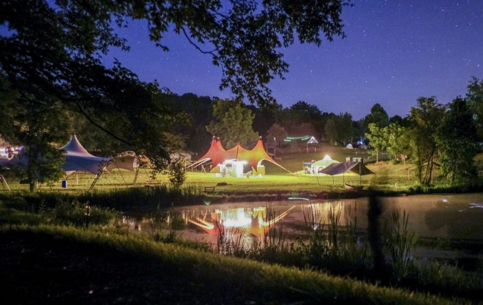 Wedding Reception with Tent